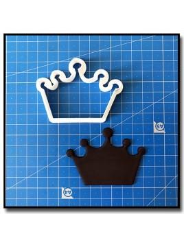 Couronne 203 - Emporte-pièce pour pâtes à sucre et sablés sur le thème Rois et Reines