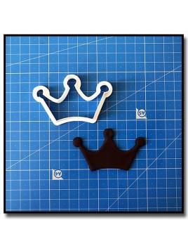 Couronne 204 - Emporte-pièce pour pâtes à sucre et sablés sur le thème Rois et Reines