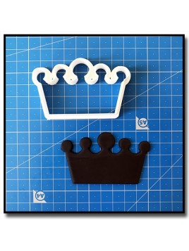 Couronne 205 - Emporte-pièce pour pâtes à sucre et sablés sur le thème Rois et Reines