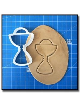 Calice 001 - Emporte-pièce pour pâtes à sucre et sablés sur le thème Bâpteme