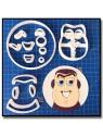 Buzz L'éclair Visage 101 - Emporte-pièce en Kit pour pâtes à sucre et sablés sur le thème Toy Story