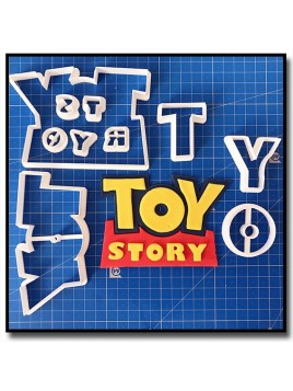 Toy Story Logo 101 - Emporte-pièce en Kit pour pâtes à sucre et sablés sur le thème Toy Story