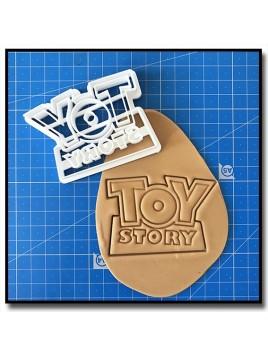 Toy Story Logo 001 - Emporte-pièce pour pâtes à sucre et sablés sur le thème Toy Story
