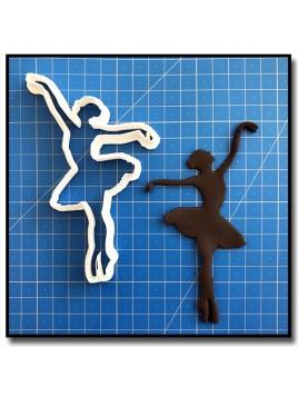 Danseuse/Ballerine 211 - Emporte-pièce pour pâtes à sucre et sablés sur le thème Danse