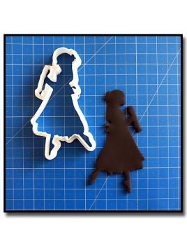 Danseuse & Casse-Noisette 201 - Emporte-pièce pour pâtes à sucre et sablés sur le thème Danse