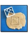 Tangram Origami 001 - Emporte-pièce
