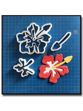 Fleur d'Hibiscus 101 - Emporte-pièce en Kit pour pâtes à sucre et sablés sur le thème Vaiana / Moana