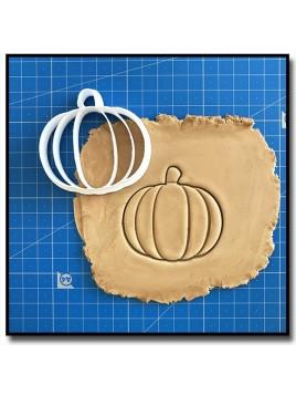 Citrouille 001 - Emporte-pièce pour pâtes à sucre et sablés sur le thème Halloween