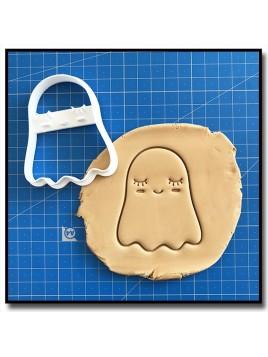 Fantôme 001 - Emporte-pièce pour pâtes à sucre et sablés sur le thème Halloween