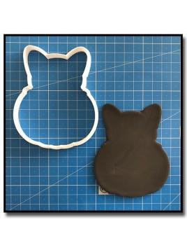 Citrouille & Chat 201 - Emporte-pièce pour pâtes à sucre et sablés sur le thème Halloween