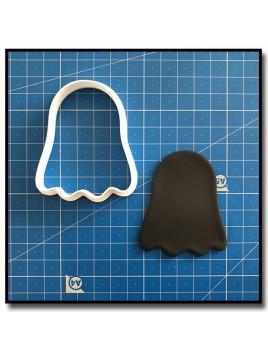 Fantôme 202 - Emporte-pièce pour pâtes à sucre et sablés sur le thème Halloween