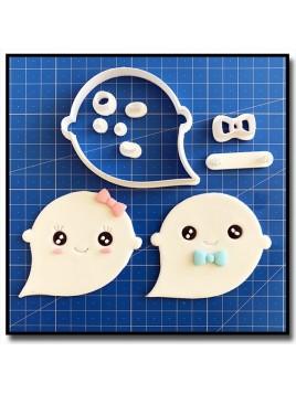 Fantôme 102 - Emporte-pièce en Kit pour pâtes à sucre et sablés sur le thème Halloween