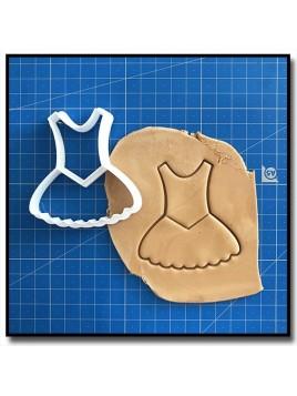 Tutu 002 - Emporte-pièce pour pâtes à sucre et sablés sur le thème Danse