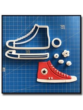 Converse 101 - Emporte-pièce en Kit pour pâtes à sucre et sablés sur le thème Mode & Fashion