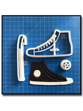 Converse 102 - Emporte-pièce en Kit pour pâtes à sucre et sablés sur le thème Mode & Fashion