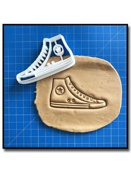 Converse 001 - Emporte-pièce pour pâtes à sucre et sablés sur le thème Mode & Fashion