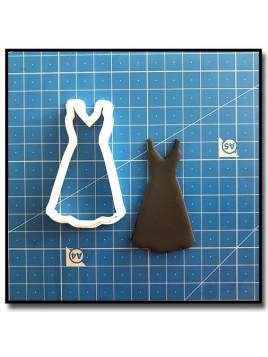 Robe 204 - Emporte-pièce pour pâtes à sucre et sablés sur le thème Vêtements