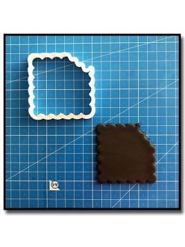 Petit Lu 202 - Emporte-pièce pour pâtes à sucre et sablés sur le thème Plaques & Formes