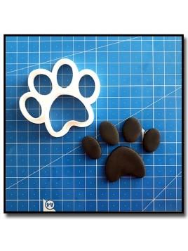 Patte de chien 201 - Emporte-pièce pour pâtes à sucre et sablés sur le thème Pat Patrouille
