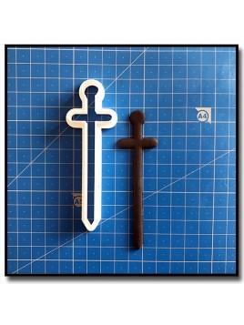 Epée 101 - Emporte-pièce pour pâtes à sucre et sablés sur le thème Rois et Reines
