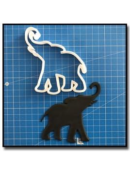 Eléphant 203 - Emporte-pièce pour pâtes à sucre et sablés sur le thème Safari