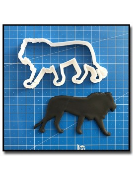 Lion 201 - Emporte-pièce pour pâtes à sucre et sablés sur le thème Safari
