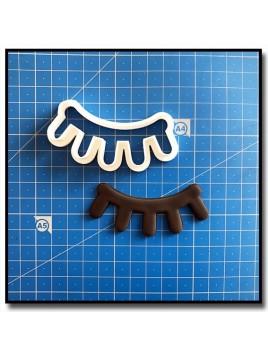 Cils de Licorne 201 - Emporte-pièce pour pâtes à sucre et sablés sur le thème Licorne