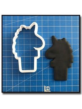 Glace Licorne 204 - Emporte-pièce pour pâtes à sucre et sablés sur le thème Licorne