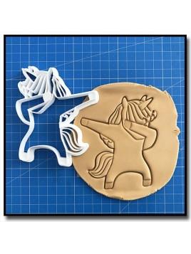 Licorne DAB 001 - Emporte-pièce pour pâtes à sucre et sablés sur le thème Licorne