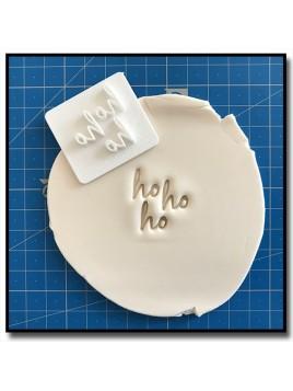 HoHoHo 301 - Tampon pour pâtes à sucre et sablés sur le thème Noël