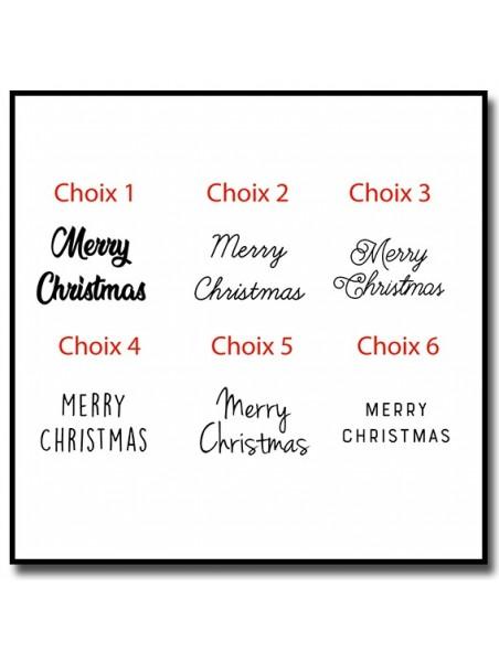 Merry Christmas 301 - Tampon
