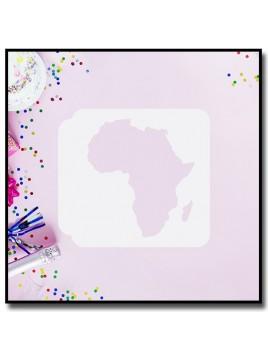 Afrique 901 - Pochoir pour pâtes à sucre et sablés sur le thème Voyage