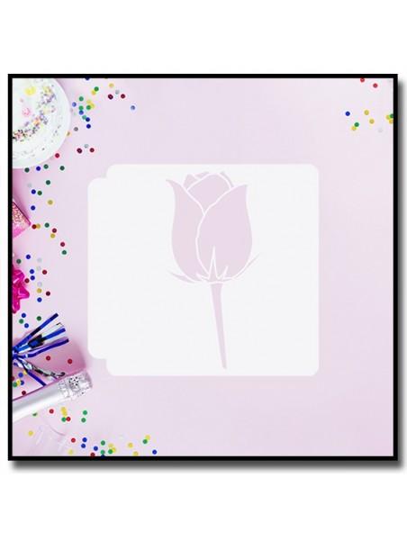Rose 902 - Pochoir
