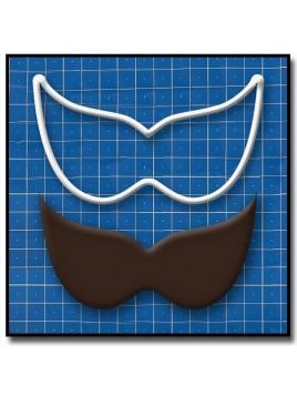 Masque de Venise 205 - Emporte-pièce pour pâtes à sucre et sablés sur le thème Bal masqué