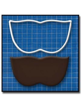 Masque de Venise 206 - Emporte-pièce pour pâtes à sucre et sablés sur le thème Bal masqué