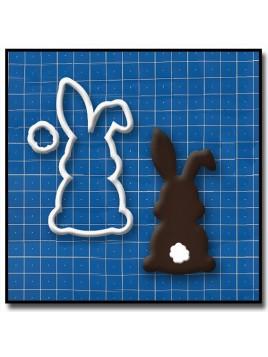 Lapin 204 - Emporte-pièce pour pâtes à sucre et sablés sur le thème Pâques / Printemps