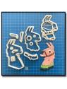 Llama, Fortnite 101 - Emporte-pièce en Kit pour pâtes à sucre et sablés sur le thème Jeux Vidéos