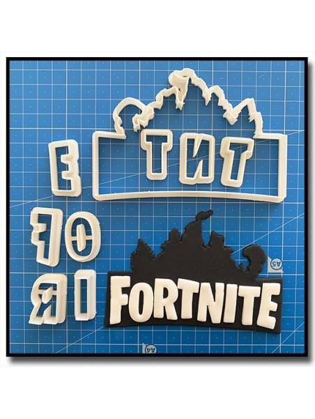 Fortnite Logo 101 - Emporte-pièce en Kit