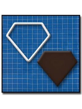 Diamant 202 - Emporte-pièce pour pâtes à sucre et sablés sur le thème Mariage
