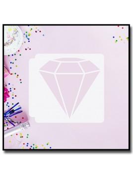 Diamant 901 - Pochoir pour pâtes à sucre et sablés sur le thème Mariage