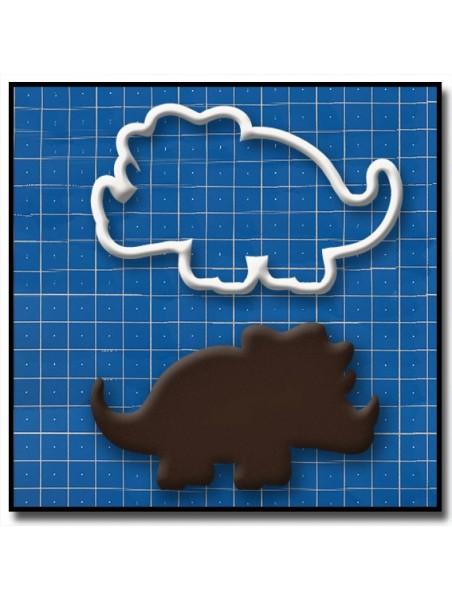Tricératops, dinosaure 201 - Emporte-pièce