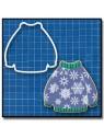 Pull 202 - Emporte-pièce pour pâtes à sucre et sablés sur le thème Hiver / Noël