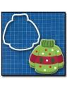 Pull 203 - Emporte-pièce pour pâtes à sucre et sablés sur le thème Hiver / Noël