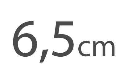 6,5cm