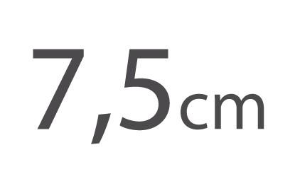 7,5cm