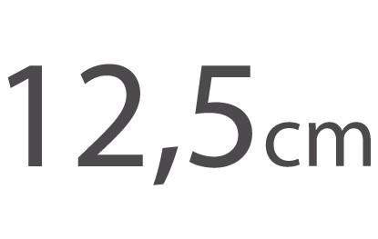 12,5cm